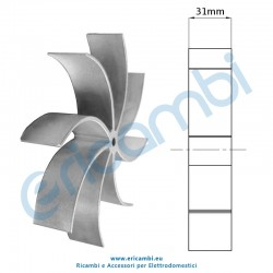 Girante estrattore altezza 31mm