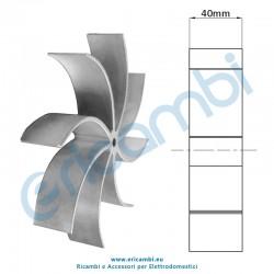 Girante estrattore altezza 40 mm