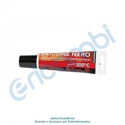 Silicone termoresistente nero 150ml