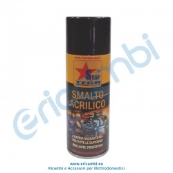 Vernice spray nero per alte temperature