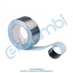 Nastro adesivo alluminio larghezza 25 mm