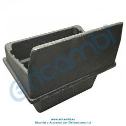 Braciere larghezza bocca 123x74 mm