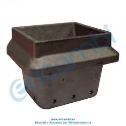 Braciere larghezza bocca 95x70 mm
