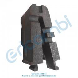 Elemento dritto per braciere modulare