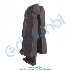 Elemento curvo 45° per braciere modulare